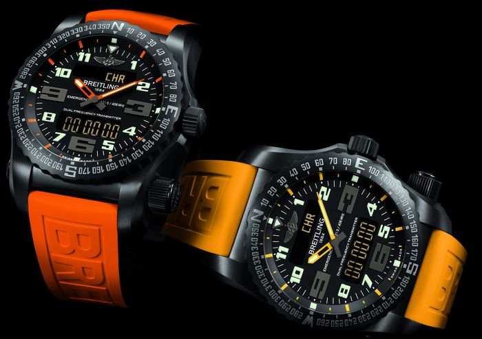 Breitling Emergency Night Mission копия