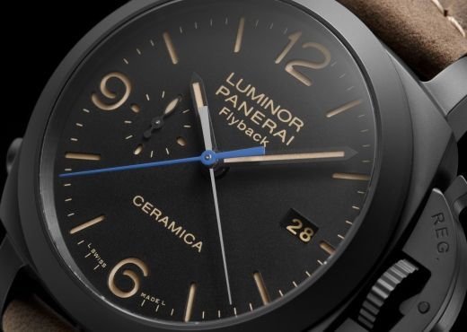 Luminor 1950 3 Days Chrono Flyback Automatic Ceramica от Officine Panerai