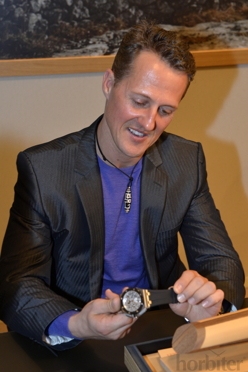 Michael-Schumacher-at-the-SIHH-2013-Audemars-Piguet-for-Horbiter