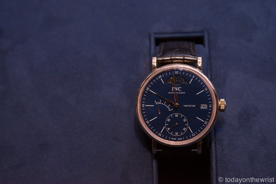 Portofino Hand-Wound Moon Phase Edition 150 Years