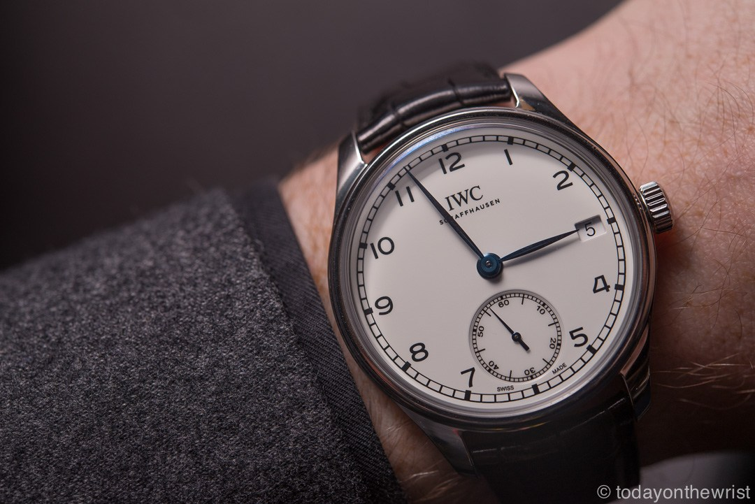 IWC Portugieser Hand-Wound Eight Days Edition 150 Years