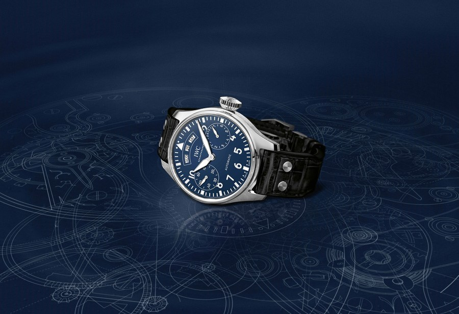 IWC Big Pilot's Watch Annual Calendar Edition 150 Years