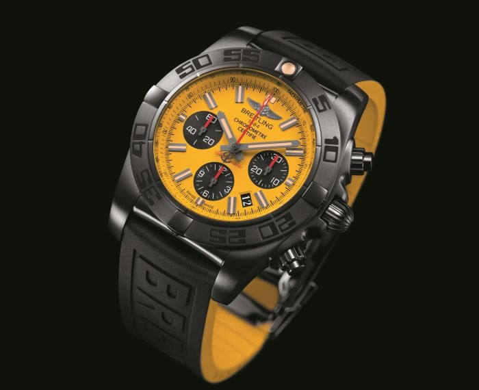 Breitling Chronomat 44 Blacksteel Pеплики