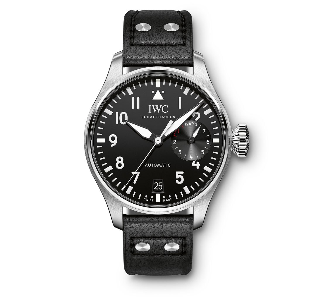 новый Szybcy I Wściekli 6 Pеплики OrologiBig Pilot's watch IW500912