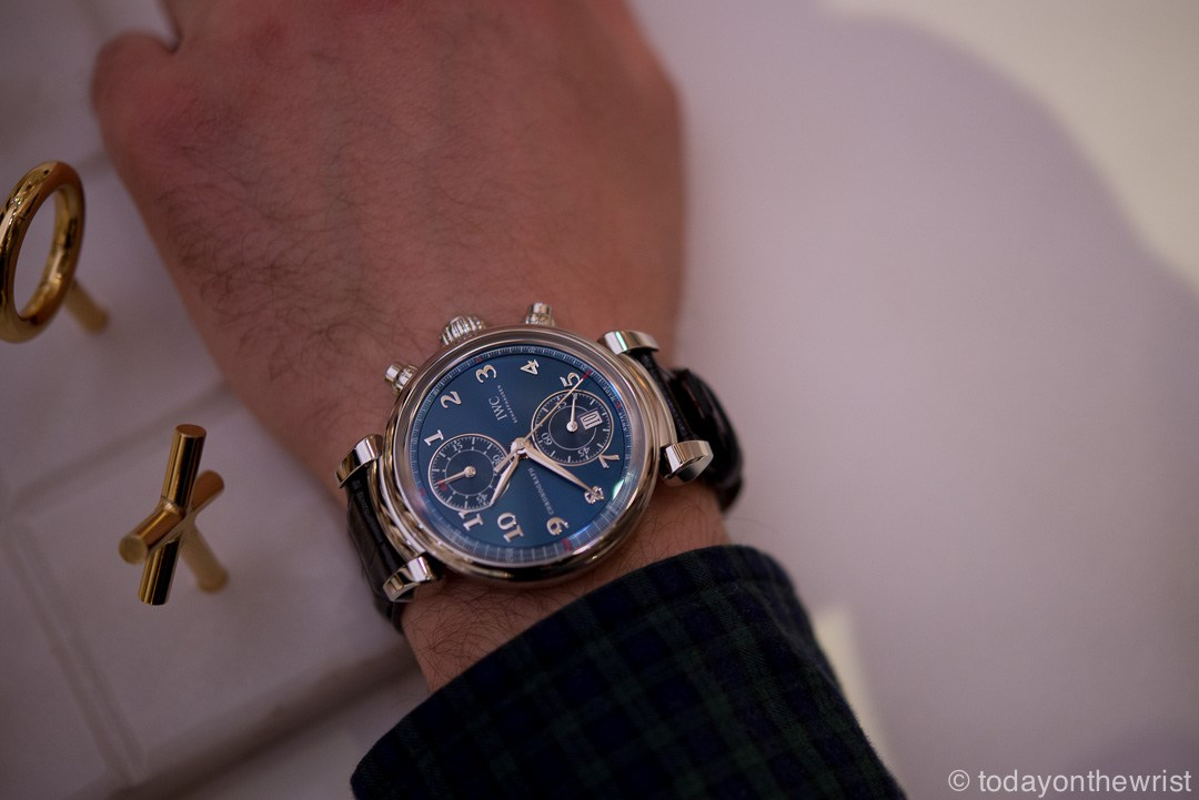IWC Da Vinci Chronograph Edition Laureus Sport for Good Foundation